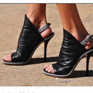 Balenciaga Glove Leather Heels Sz 39, US 8.5